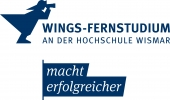 Logo WINGS - FERNSTUDIUM            Master  MBA Business Consulting