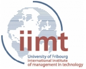 Logo University of Fribourg - iimt            Master  Executive MBA in Utility Management